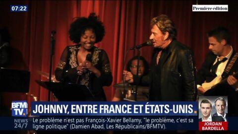 VIDEO Johnny Hallyday français ou américain? Ce témoignage qui n'arrange pas Laura et David