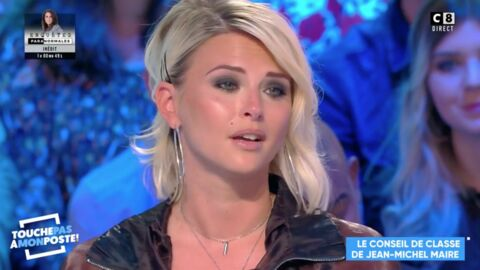 VIDEO TPMP: Émue aux larmes, Kelly Vedovelli fait une touchante déclaration à Jean-Michel Maire