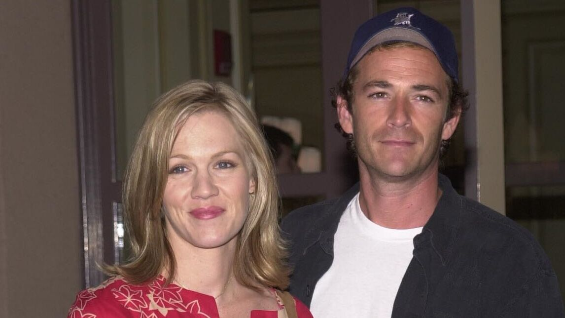 PHOTO Jennie Garth : son touchant clin d'oeil à Luke Perry