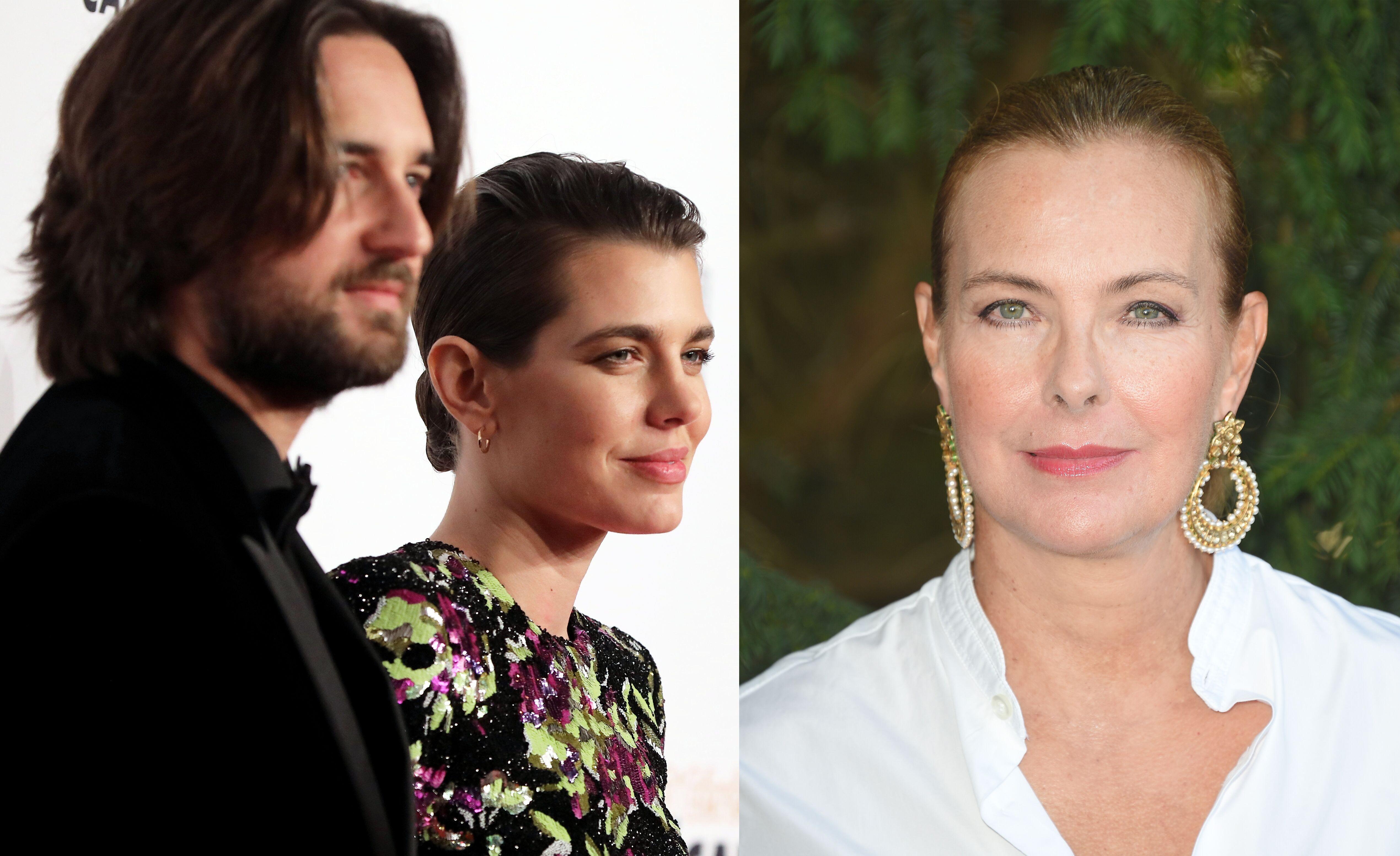 Charlotte Casiraghi mariée à Dimitri Rassam  quels sont ses rapports avec Carole  Bouquet ? , Voici