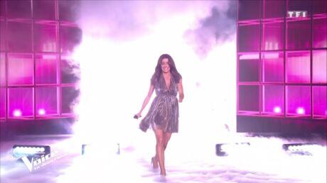 PHOTOS Jenifer a encore fait des folies, découvrez le prix de sa robe de la demi-finale de The Voice