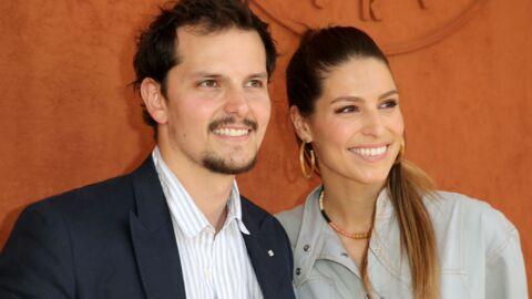 PHOTOS Laury Thilleman aux anges avec son chéri Juan Arbelaez à Roland-Garros