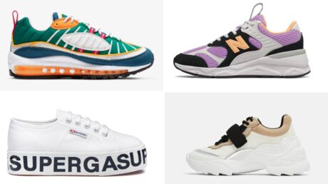 Baskets tendances 2019 – notre sélection pour l'été Voici
