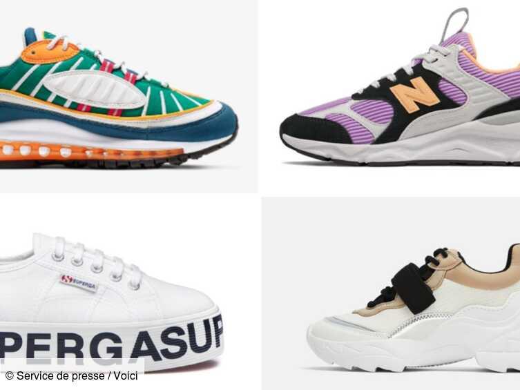 Baskets tendances 2019 – notre sélection pour l'été - Voici
