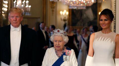 Donald Trump en visite chez la reine Elizabeth: cette énorme bourde que Melania lui a évité