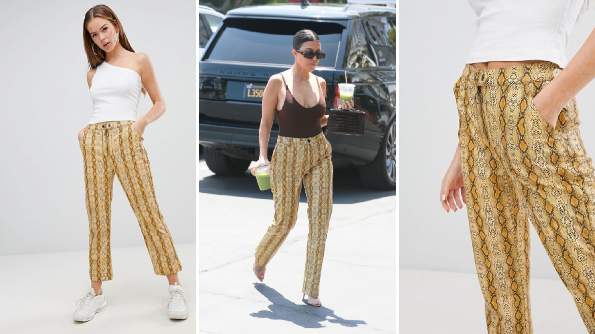 Et si on achetait le même pantalon que Kourtney Kardashian ?