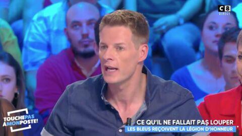 VIDEO Légion d'honneur de l'équipe de France: Matthieu Delormeau pousse un gros coup de gueule