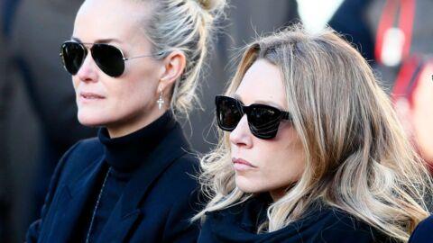 INFO VOICI Héritage de Johnny Hallyday: Laeticia et Laura Smet sont en négociations