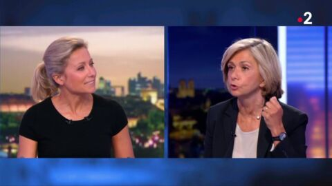 VIDEO La grosse boulette d'Anne-Sophie Lapix en direct du JT de France 2 face à Valérie Pécresse