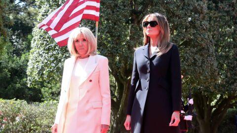 Brigitte Macron et Melania Trump: leur déjeuner en tête à tête loin de leurs époux