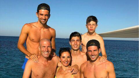 Zinedine Zidane: ses fils en vacances sans leurs parents, mais en charmante compagnie