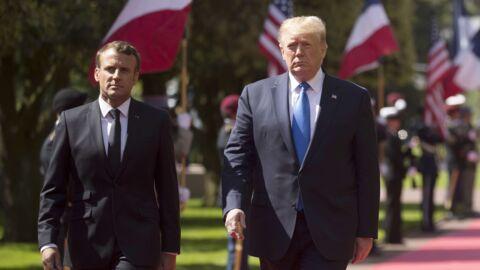 L'exigence de Donald Trump pour sa visite en France à laquelle Emmanuel Macron a dû se plier