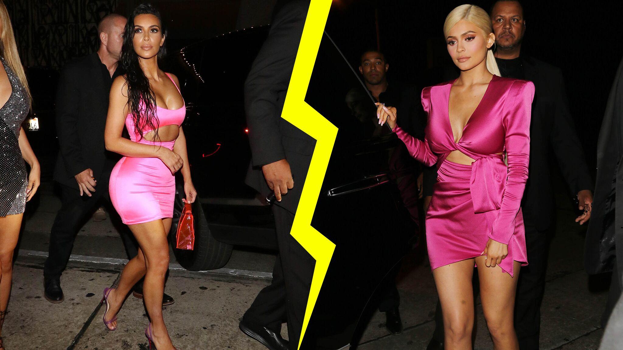 Fashion Battle – Qui gagne entre Kim Kardashian et Kylie Jenner?