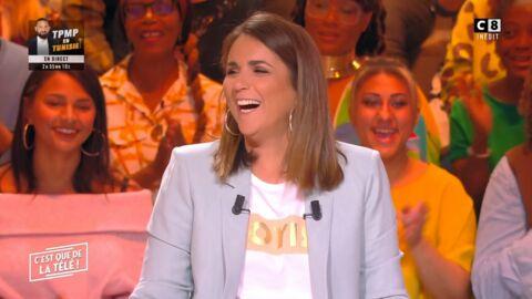 VIDEO Valérie Bénaïm: une chroniqueuse l'embrasse sur la bouche dans C'est que de la télé