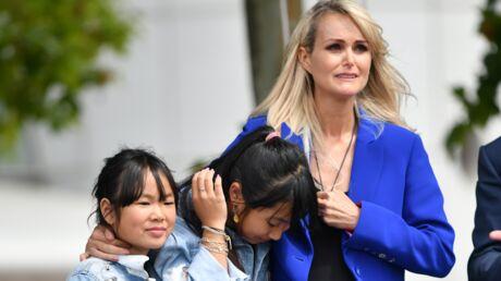 PHOTOS Laeticia, Jade et Joy bouleversées par l'hommage rendu à Johnny Hallyday à Toulouse
