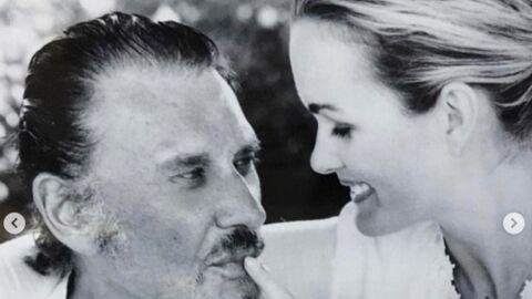 Laeticia Hallyday: son bouleversant message pour l'anniversaire de Johnny