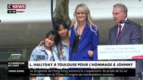 Laeticia Hallyday: ses larmes à Toulouse, un simple coup de com'?