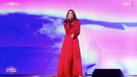 Jenifer: découvrez le prix de sa sublime robe en soie rouge lors de La chanson de l'année