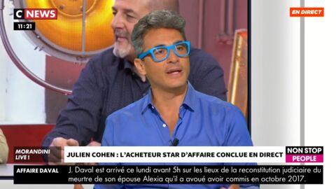 VIDEO Danse avec les stars: Julien Cohen va-t-il remplacer Pierre-Jean Chalençon? Il répond