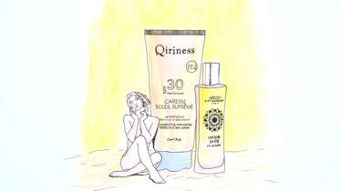 Crème solaire et sillage d'été