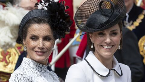 Kate Middleton fâchée avec Letizia d'Espagne? Ce geste de la duchesse qui a surpris