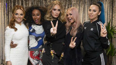 PHOTOS Adele dévoile son impressionnante perte de poids au concert des Spice Girls