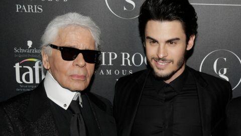 PHOTO Baptiste Giabiconi absent de l'hommage à Karl Lagerfeld, découvrez pourquoi