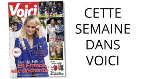Cette semaine dans Voici: le difficile retour en France de Laeticia Hallyday