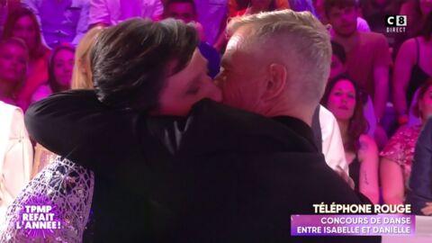 VIDEO Danielle Moreau dérape et embrasse un homme dans TPMP refait l'année