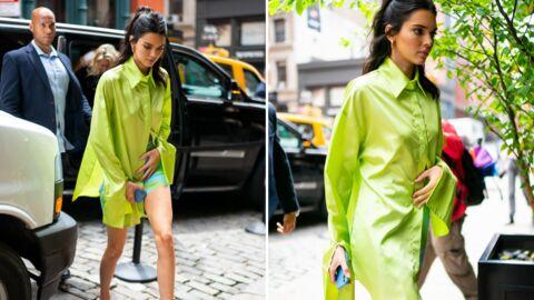 On veut le total look néon de Kendall Jenner