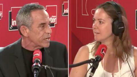 Thierry Ardisson fracasse Charline Vanhoenacker qui se réjouit de l'arrêt des Terriens