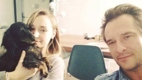 David Hallyday fier de l'arrivée de sa fille Emma Smet dans Demain nous appartient