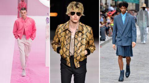 Printemps-été 2020: 5 tendances repérées à la Fashion Week Homme