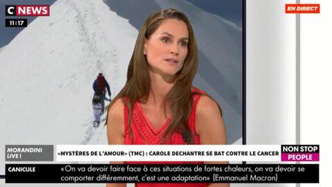 VIDEO Carole Dechantre (Les Mystères de l'amour) se confie sur son combat contre le cancer