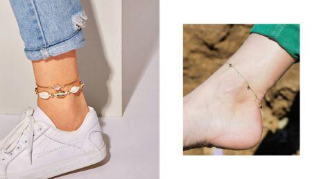 Tendance été 2019 – Le bracelet de cheville redeviendrait-il stylé?