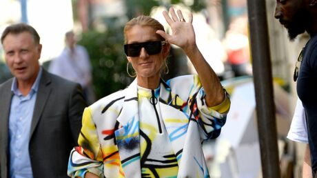 PHOTOS Céline Dion: en body multicolore, elle dévoile ses jambes en pleine rue!