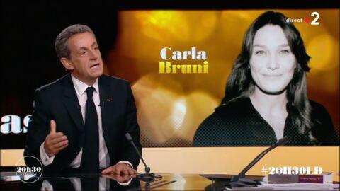 VIDEO Nicolas Sarkozy: sa déclaration enflammée à son épouse face à Laurent Delahousse