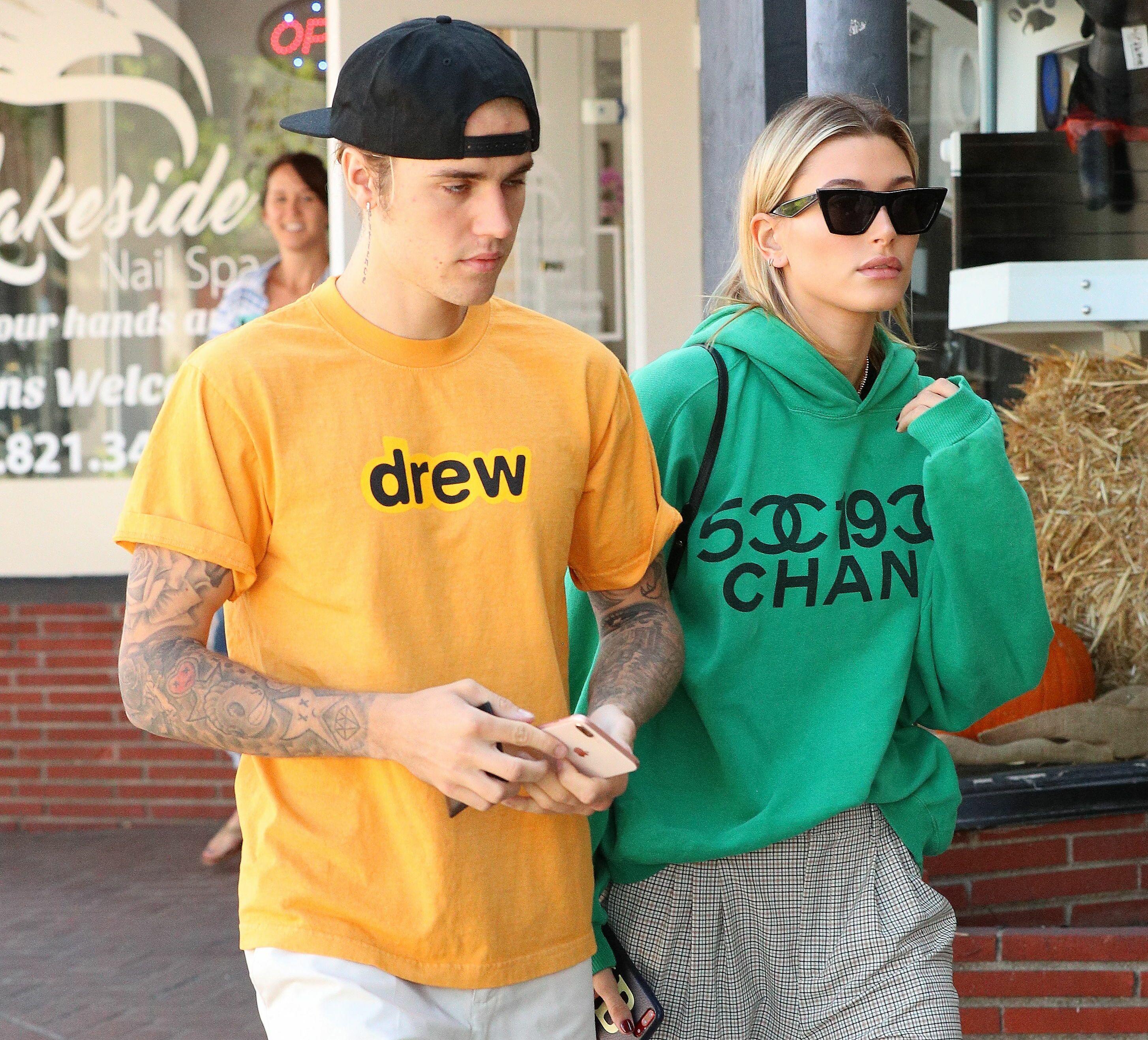 PHOTO L'adorable déclaration d'amour de Justin Bieber à sa femme, Hailey Baldwin