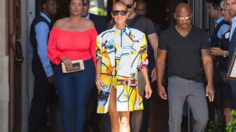 Fashion Week – Céline Dion s'éclate côté mode à Paris!