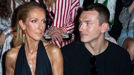 PHOTOS Céline Dion très décolletée au côté de Pepe Muñoz au défilé Schiaparelli