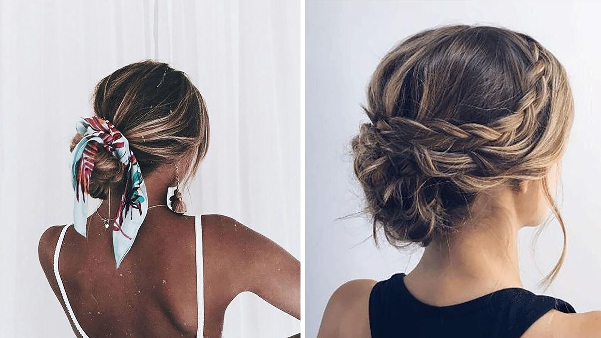 Cheveux 3 Idees De Coiffures Faciles A Realiser Voici