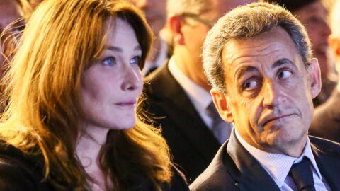 PHOTO Nicolas Sarkozy devient la risée de la Toile à cause d'un cliché avec Carla Bruni