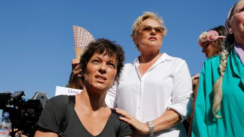 PHOTOS Muriel Robin et Anne Le Nen unies contre les violences faites aux femmes