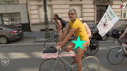 VIDEO Tour de France 2019: quand France 2 oublie de flouter l'intimité de cyclistes nudistes…