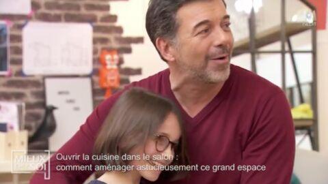 VIDEO Mieux chez soi: Stéphane Plaza ému par le beau cadeau d'une petite fille