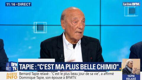 VIDEO Bernard Tapie malade: Jacques Séguéla donne des nouvelles inquiétantes