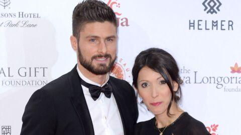 VIDEO Olivier Giroud fait une déclaration à sa femme Jennifer, elle fond en larmes