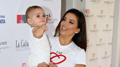 PHOTO Eva Longoria: son fils comparé à un célèbre personnage de bande dessinée