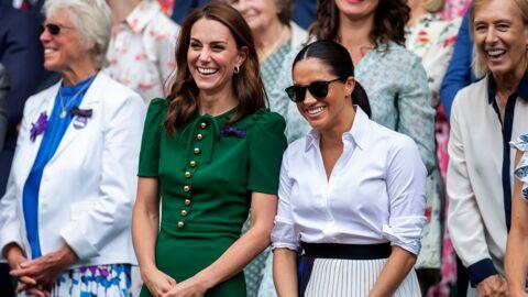 Famille Royale – Battle de style entre Meghan Markle et Kate Middleton à Wimbledon