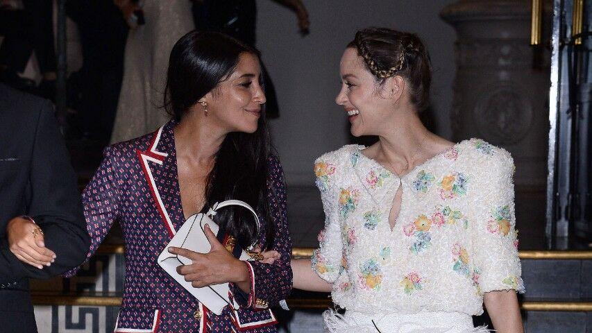 PHOTO Quand Marion Cotillard et Leïla Bekhti dînent chez la grand-mère de Jean Imbert!